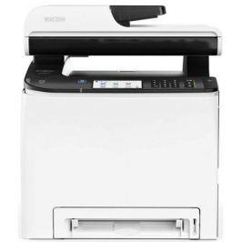 МФУ Ricoh SP C260SFNw цветное/лазерное A4, 20 стр/мин, 286 листов, duplex, ADF, Fax, USB, Ethernet, Wi-Fi, 256MB