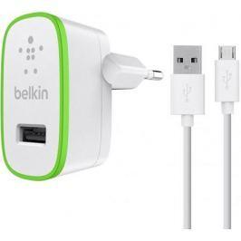 Сетевое зарядное устройство Belkin F8M886vf04-WHT 2.4А USB белый