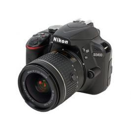 Фотоаппарат Nikon D3400 Black KIT (AF-P 18-55 non VR 24,7Mp, 3