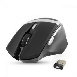 Мышь беспроводная Crown Gaming CMXG-801 чёрный USB + радиоканал