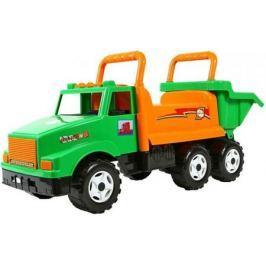 ОР211 Каталка самосвал МАГ с кузовом, 6 колёс зеленая 5567