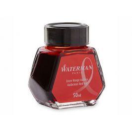 Флакон с чернилами Waterman Ink Bottle 51063 чернила красный 50мл S0110730