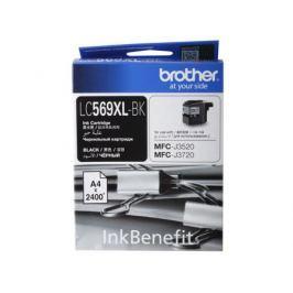 Картридж струйный Brother LC569XLBK