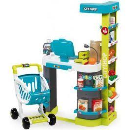 Игровой набор Smoby Супермаркет игровой City Shop, св,зв, 59,5х32х86см, 1/1 350207