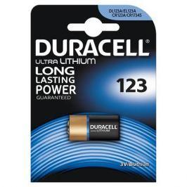 Батарейки DURACELL CR123 ULTRA (10/50/6000) Блистер 1 шт
