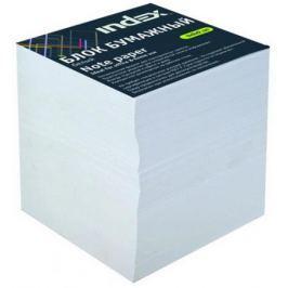 Блок бумажный Index 90х90х90 мм белый