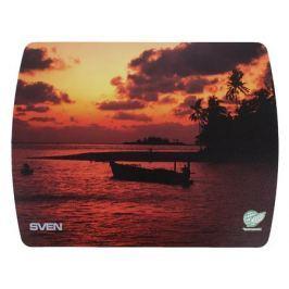 Коврик для мыши SVEN UA (8 рисунков), 230х180х2,35 мм, материал: полипропилен + вспененный полиэтилен