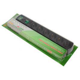 Сетевой фильтр Most RG 5м черный 6 розеток