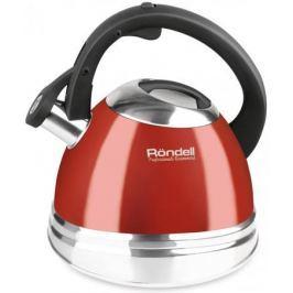 Чайник Rondell RDS-498 (НЕ электрический) красный 3 л нержавеющая сталь