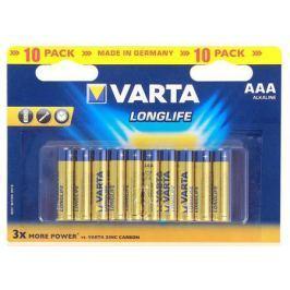 Батарейки Varta Longlife AAA 10 шт