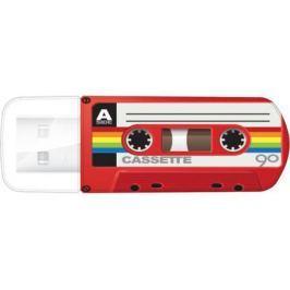 Флешка USB 32Gb Verbatim Mini Cassette Edition 49392 USB красный