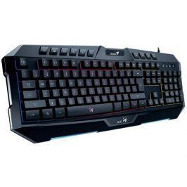 Клавиатура проводная Genius Scorpion K20 USB черный 104КЛ+10КЛ М/Мед