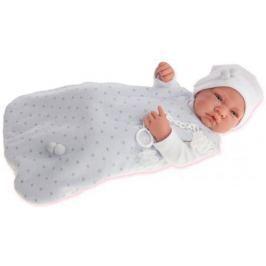 Кукла-младенец Munecas Antonio Juan Кармело в голубом, 42 см 5001B