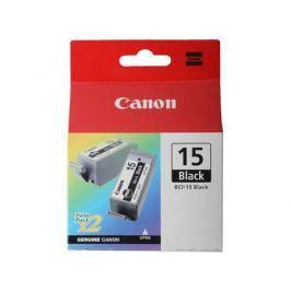 Картридж Canon BCI-15Bk для BJ-I70. Двойная упаковка. Черная. 121 страниц.