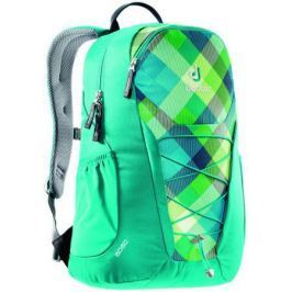 Рюкзак Deuter GO GO 25 л 3820016-3216 сине-зеленая клетка