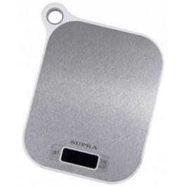 Весы кухонные Supra BSS-4077 белый-серый