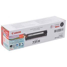 Картридж Canon 731HBk для принтеров LBP7100Cn/7110Cw. Чёрный. 2400 страниц.