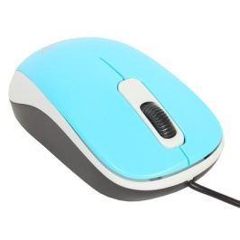Мышь Genius DX-110 Blue, оптическая, 1200 dpi, 3 кнопки, USB