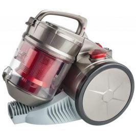 Пылесос Scarlett SC-VC80C04 сухая уборка серый красный