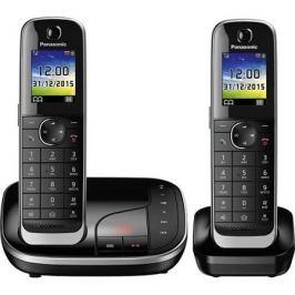 Телефон DECT Panasonic KX-TGJ322RUB АОН, Color TFT, Caller ID 50, Эко-режим, Память 250, Black-List, Автоответчик, дополнительная трубка