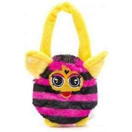 Плюшевая игрушка Furby сумочка в полоску 12 см, хенгтег