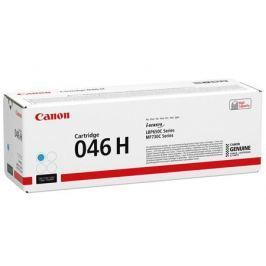Картридж Canon 046C H для i-SENSYS MF732/734/735, LBP653/654. Голубой. 5000 страниц.