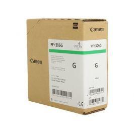 Картридж Canon PFI-306 G для плоттера iPF8400/9400. Зелёный. 330 мл.