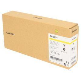 Картридж Canon PFI-703 Y для плоттера iPF815/825. Жёлтый. 700 мл.