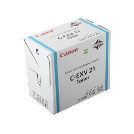 Тонер-картридж Canon C-EXV21C для iR C2880/ iR C2880i/ iR C3380 / iR C3380i. Голубой. 14000 страниц.