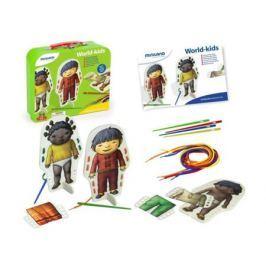 Настольная игра развивающие Miniland Со шнуровкой В мире детей 36033