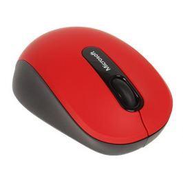(PN7-00014) Мышь Microsoft Mobile 3600 красный/черный оптическая (1000dpi) беспроводная BT (2but)