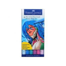 Ручка капиллярная Faber-Castell Manga 6 цветов 167130