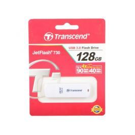 Флешка USB 128Gb Transcend Jetflash 730 TS128GJF730 белый