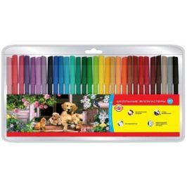 Набор фломастеров Koh-i-Noor Домашние животные 30 шт разноцветный 1002/30 TE 1002/30 TE