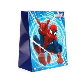 Пакет подарочный Весёлый Праздник Человек-паук 1 шт 33x46х20 см CLRBG-SPM-03