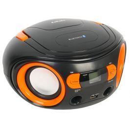 Аудиомагнитола BBK BS15BT черный/оранжевый