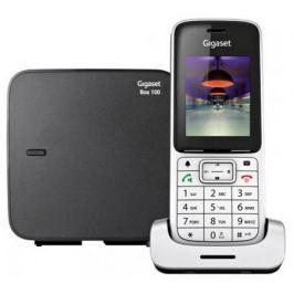 Радиотелефон DECT Gigaset SL450 SYS серебристый/черный