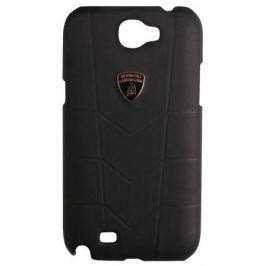 Кожаный клип-кейс для Samsung Galaxy Note II Lamborghini Aventador черный