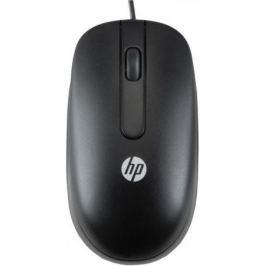 Мышь проводная HP QY778AA чёрный USB