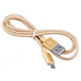 Кабель USB 2.0 A(m)-microUSB B(m) позолоченные контакты 1м Buro BHP MICROUSB 1M BRAIDED