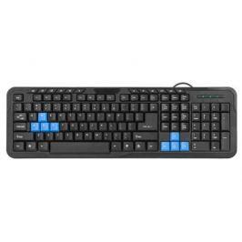 Клавиатура Defender HM-430 RU,черный, полноразмерная, USB