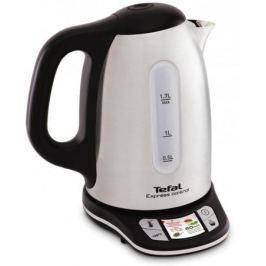 Чайник Tefal Express Control KI240D30 2400 Вт серебристый чёрный 1.7 л металл/пластик
