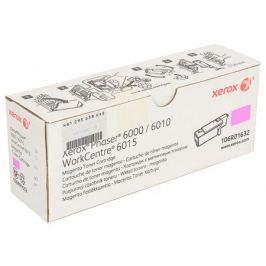 Картридж Xerox 106R01632 для Phaser 6000/6010. Пурпурный. 1000 страниц.