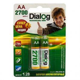 Аккумуляторы Dialog HR6/2700-2B - NiMH АА 2700mAh 2шт в блистере