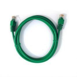 Патч-корд UTP 5E категории 1м зеленый CU PVC IRBIS IRB-U5E-1-GN медь 24AWG