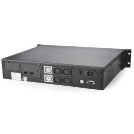 ИБП Powercom KIN-1500AP RM 1500VA/900W 2U,USB,RS-232 (4+2 IEC)