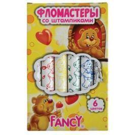 Набор фломастеров Action! FANCY 6 шт разноцветный со штампиками, FWP425-6 FWP425-6