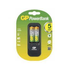 Зарядное устройство + аккумуляторы 2700 mAh GP PB560GS270-2CR2 AA 2 шт