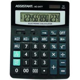Калькулятор настольный Assistant AC-2477 14-разрядный AC-2477