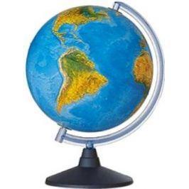 Глобус ELITE с двойной картой, диаметр 25 см, новая карта, подсветка, пласт. подставка и меридиан